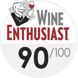 2019   Wine Enthusiast 90/100