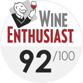 2019 Wine Enthusiast 92/100