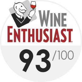 2019   Wine Enthusiast 93/100